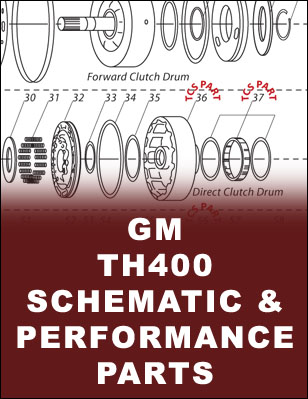 TH400 Transmission Schematic
