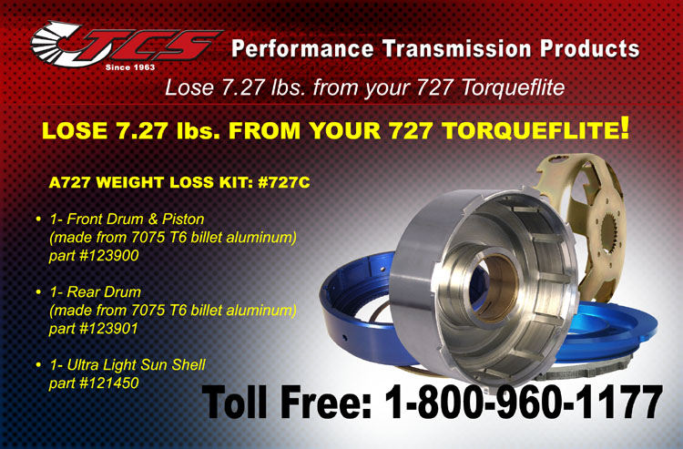 Lose 7.27 lbs. from your Torqueflite