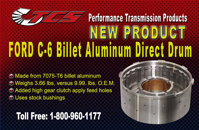 C6 Aluminum Direct Drum