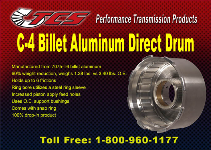 C-4 Aluminum Direct Drum