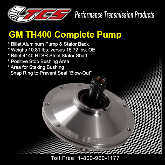 GM TH400 Complete Pump Assembly